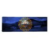 iCanvas Flags New Hampshire Mount Wonalancet Farm Panoramic Graphic Art on Canvas