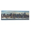 iCanvas Panoramic 'New York Skyline Cityscape (Winter)' Photographic Print on Canvas