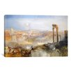 iCanvas 'Modern Rome, Campo Vaccino' Painting Print on Canvas by Jospeh William Turner