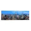 iCanvas Panoramic 'New York Skyline Cityscape (Evening)' Photographic Print on Canvas