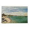 "iCanvas ""Regatta at Sainte-Adresse 1867"" by Claude Monet Painting Print on Canvas"