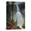 iCanvas 'Nevada Falls' by Albert Bierstadt Painting Print on Canvas