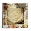 "iCanvas ""Retro Flower"" Canvas Wall Art by Luz Graphics"