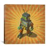 """iCanvas """"Robot II"""" by Marcus Jules Graphic Art on Canvas"""