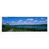 iCanvas Panoramic Owasco Lake, Finger Lakes Region, New York State Photographic Print on Canvas