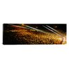 iCanvas Panoramic Rock Concert Interior Chicago II Photographic Print on Canvas