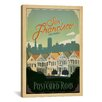 iCanvas 'Postcard Road - San Francisco, California' by Anderson Design Group Vintage Advertisment on Canvas