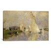 iCanvas Regatta at Argenteuil 1874 by Pierre-Auguste Renoir Painting Print on Canvas