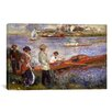 iCanvas 'Rowers at Chatou 1880-1881' by Pierre-Auguste Renoir Painting Print on Canvas