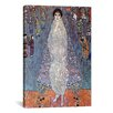 iCanvas 'Portrait of Baroness Elisabeth Bachofen' by Gustav Klimt Painting Print on Canvas