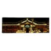iCanvas Panoramic House Decorated with Christmas Lights, Phoenix, Arizona Photographic Print on Canvas