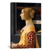 iCanvas 'Portrait of Giovanna Tornabuoni' by Domenico Ghirlanaio Painting Print on Canvas