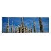 iCanvas Panoramic Piazza Del Duomo, Milan, Italy Photographic Print on Canvas