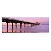 iCanvas Panoramic Manhattan Beach Pier, Manhattan Beach, California Photographic Print on Canvas