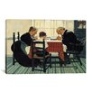 iCanvas 'Family Grace (Pray)' by Norman Rockwell Painting Print on Canvas