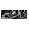 iCanvas Panoramic New York Skyline Cityscape (Times Square at Night) Photographic Print on Canvas