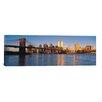 iCanvas Panoramic New York Skyline Cityscape Photographic Print on Canvas
