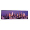 iCanvas Panoramic Los Angeles Skyline Cityscape Photographic Print on Canvas in Dusk