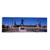iCanvas Panoramic 'Willie Lee McCovey Statue in AT and T Park, San Francisco, California' Photographic Print on Canvas