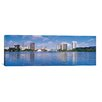 iCanvas Panoramic Oakland Skyline Cityscape Photographic Print on Canvas in Multi-color