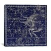 iCanvas Maps and Charts Prints Celestial Atlas - Plate 14 (Taurus) by Alexander Jamieson Graphic Art on Canvas