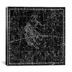 iCanvas Maps and Charts Prints Celestial Atlas - Plate 15 (Gemini) by Alexander Jamieson Graphic Art on Canvas