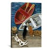 iCanvas The Days Catch by Jan Panico Painting Print on Canvas