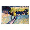 iCanvas 'Winter Landscape' by Wassily Kandinsky Painting Print on Canvas