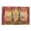 iCanvas Decorative Art 'Stage Set with Paintings and Statues' by Robert Caney Painting Print on Canvas
