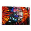 iCanvas Photography Stained Glass Window Graphic Art on Canvas