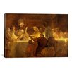 iCanvas 'The Conspiracy of the Batavians under Claudius Civilis' by Rembrandt Painting Print on Canvas
