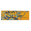 iCanvas Almond Blossom by Vincent Van Gogh Painting Print on Canvas in Orange