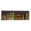 iCanvas Panoramic San Diego Skyline Cityscape Photographic Print on Canvas in Yellow