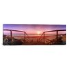 iCanvas Panoramic 'Staircase Leading Towards a Beach, California, Norfolk, England' Photographic Print on Canvas