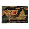 iCanvas 'The Body of Abel Found by Adam and Eve 1825' by William Blake Painting Print on Canvas