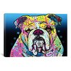 iCanvas 'The Bulldog' by Dean Russo Graphic Art on Canvas