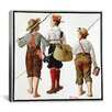 iCanvas 'The Fishing Trip' by Norman Rockwell Painting Print on Canvas