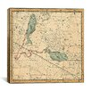iCanvas Celestial Atlas - Plate 22 (Pisces) by Alexander Jamieson Graphic Art on Canvas in Beige