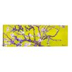 iCanvas Almond Blossom by Vincent Van Gogh Painting Print on Canvas in Yellow