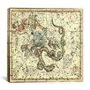 iCanvas Celestial Atlas - Plate 2 (Ursa Minor) by Alexander Jamieson Graphic Art on Canvas in Beige