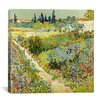 "iCanvas ""The Garden at Arles"" by Vincent Van Gogh Painting Print on Wrapped Canvas"