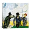 "iCanvas ""The Drinkers (after Daumier)"" Canvas Wall Art by Vincent Van Gogh"