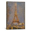 iCanvas 'The Eiffel Tower' by Georges Seurat Painting Print on Canvas