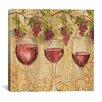 "iCanvas Decorative ""Wine Harvest II"" by Anne Tavoletti Painting Print on Canvas"
