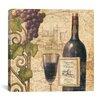 "iCanvas ""Wine Tasting III"" Canvas Wall Art by John Zaccheo"