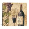 "iCanvas ""Wine Tasting III"" by John Zaccheo Painting Print on Canvas"