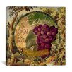 "iCanvas ""Wines of France (Grape)"" by Color Bakery Painting Print on Canvas"