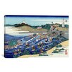 iCanvas 'The Fuji from Kanaya on the Tokaido (Tokaido Kanaya no Fuji)' by Katsushika Hokusai Painting Print on Canvas
