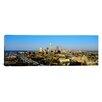 iCanvas Panoramic 'Ohio, Cleveland, Aerial' Photographic Print on Canvas
