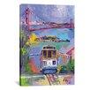 """iCanvas """"San Francisco"""" Canvas Wall Art by Richard Wallich"""
